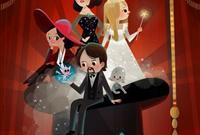 《魔境仙踪》发布卡通版海报艺术家Joey Chou为影片创作了海报