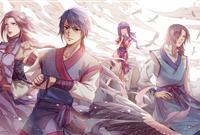 漫画《百炼成神》人设图公开东方玄幻小说改编9月底发布