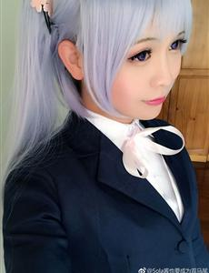 凉风青叶-New Game!CosPlay