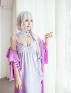 爱蜜莉雅-Re:从零开始的异世界生活CosPlay