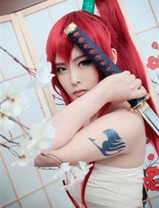 艾露莎·舒卡勒托-妖精的尾巴CosPlay