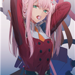 02(ZEROTWO)-DARLING in the FRANXX剧照_图片